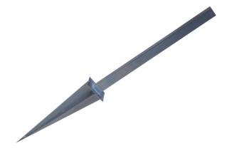 Kotwa metalowa, stożkowa 100x100x1440mm