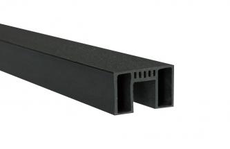 Listwa ogrodzeniowa C 1750x27.50x43.50mm Antracyt