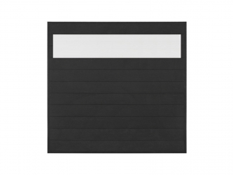 Panel ogrodzeniowy z poliwęglanem Antracyt 1730x1710x43.5mm