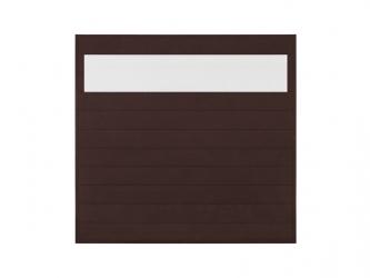 Panel ogrodzeniowy z poliwęglanem Brąz 1730x1710x43.5mm
