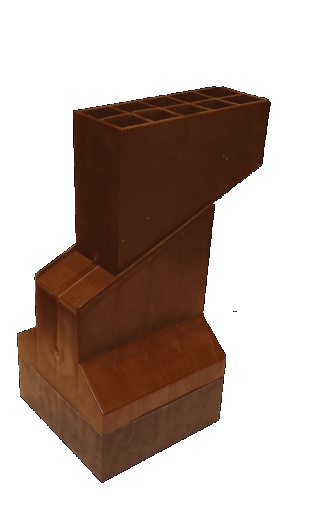 Wspornik regulowany pod legary 168-218 mm